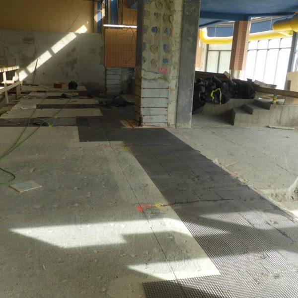 KKS, Carbonbeton, Schwimmbad, bedarfsgerecht, Stütze, Bodenfläche