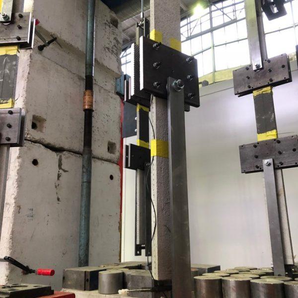 Dauerstandsversuch unter elektrischer Kontaktierung, TU Dresden